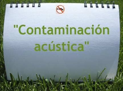 Contaminación acústica y ruido | Mcarmenfer's Blog