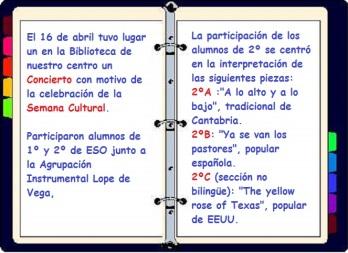 Semana Cultural 2º ESO