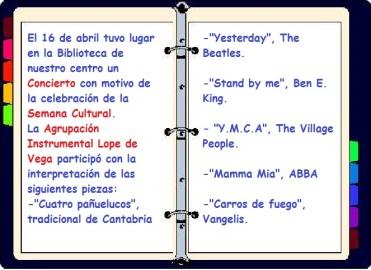 Semana Cultural Agrupación