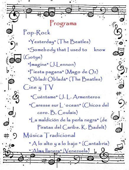 Programa Semana Cultural