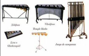 Instrumentos idiófonos